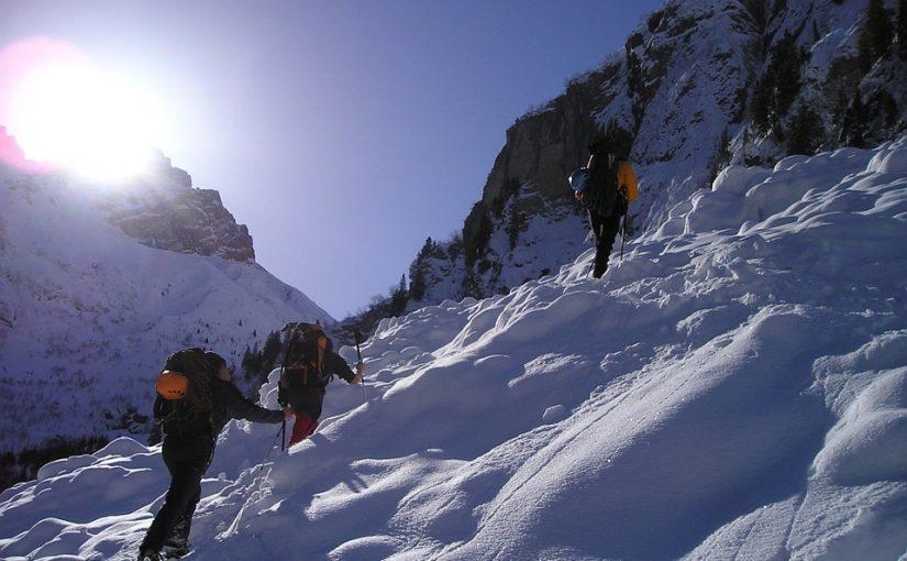 trekking en invierno