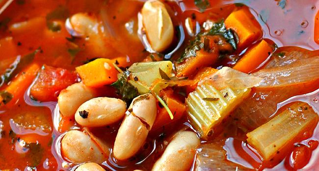 Fasolada Greek soup