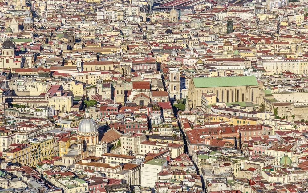 las calles de italia en coche