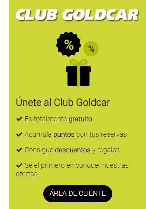 club goldcar descuentos