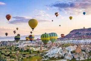 paisaje de turismo en turquia