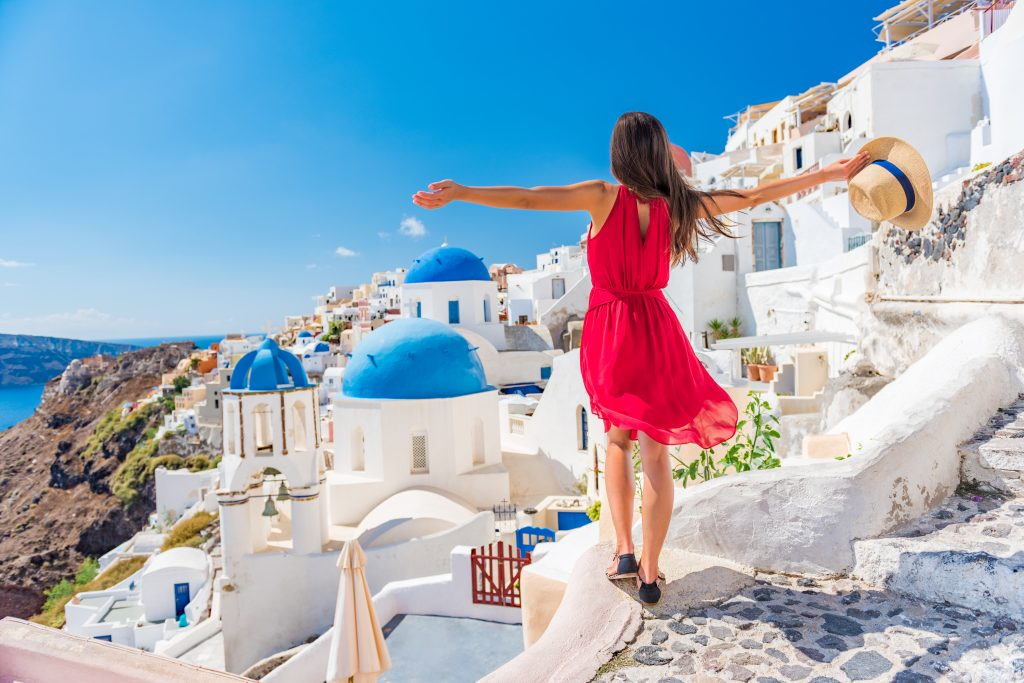 turismo en santorini
